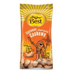 Best Castaway Cashews Pouch 13gm (1x24Pcs)
