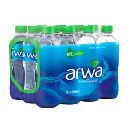 Arwa Water 500ml x 24 Pieces