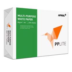 PP Lite A4, 80GSM-500 Sheets/Ream,5 Reams in a Carton
