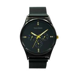 Trend Setter Men''s Black Watch - Mesh Band TD2107M-5