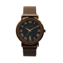 Trend Setter Men''s Coffee Watch - Mesh Band TD2110M-7