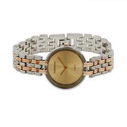 Trend Setter Women''s Two Tone Rose Watch - Alloy Metal TD3101L-6 preview