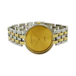 Trend Setter Men''s Two Tone Gold Watch - Alloy Metal TD3101M-3 preview