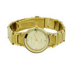 Trend Setter Women''s Gold Watch - Alloy Metal TD3102L-1 preview