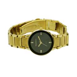 Trend Setter Women''s Gold Watch - Alloy Metal TD3102L-2 preview
