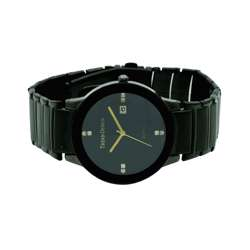 Trend Setter Men''s Black Watch - Alloy Metal TD3102M-4 preview