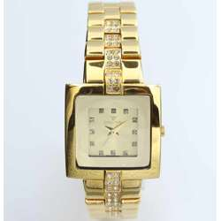 Creative Women''s Gold Watch - Stainless Steel S12481L-1