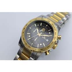 Multidimensional Men''s Two Tone Watch - Stainless Steel S12497M-2 preview