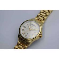 Challenger Men''s Gold Watch - Stainless Steel S12507M-2 preview