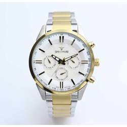 Multidimensional Men''s Two Tone Watch - Stainless Steel S12533M-3