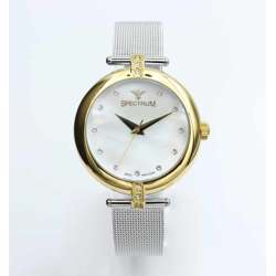 Creative Women''s Silver Watch - Mesh Band S12575L-4