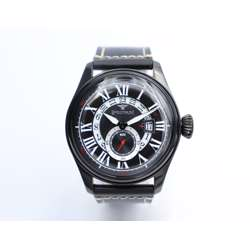 Inventor Men''s Black Watch - Leather S23038M-2