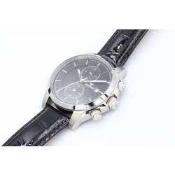Multidimensional Men''s Black Watch - Leather S23070M-4 preview
