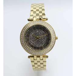 Creative Women''s Gold Watch - Stainless Steel S25155L-1