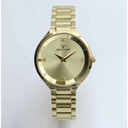 Truth Seeker Women''s Gold Watch Set - Stainless Steel S25168L-1B preview
