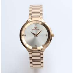 Truth Seeker Women''s Rose Gold Watch - Stainless Steel S25168L-7