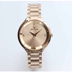 Truth Seeker Women''s Rose Gold Watch Set - Stainless Steel S25168L-8B