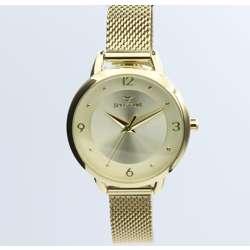 truth Seeker Women''s Gold Watch Set - Mesh Band S25176L-1B preview