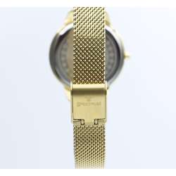 truth Seeker Women''s Gold Watch - Mesh Band S25176L-2 preview