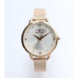 truth Seeker Women''s Rose Gold Watch - Mesh Band S25176L-4 preview