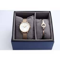 truth Seeker Women''s Rose Gold Watch Set - Mesh Band S25176L-4B preview