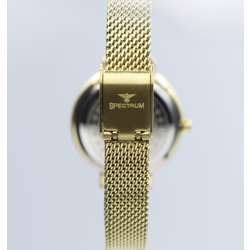 Creative Women''s Gold Watch Set - Mesh Band S25178L-1B preview