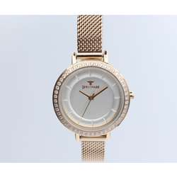 Creative Women''s Rose Gold Watch Set - Mesh Band S25178L-4B preview