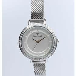 Creative Women''s Silver Watch Set - Mesh Band S25178L-8B preview
