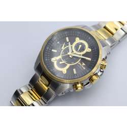 Multidimensional Men''s Two Tone Watch - Stainless Steel S82429M-1 preview