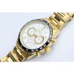 Multidimensional Men''s Gold Watch - Stainless Steel S82436M-1 preview