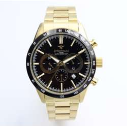 Multidimensional Men''s Gold Watch - Stainless Steel S82436M-2 preview