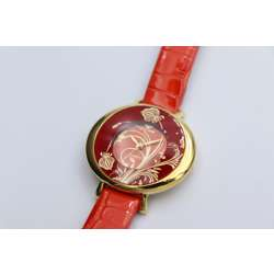 Creative Women''s Red Watch - Leather SP93470L-3 preview