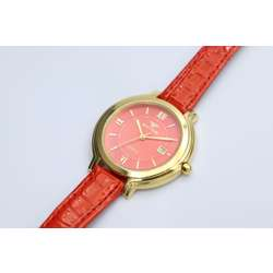 Creative Women''s Red Watch - Leather SP93505L-4 preview