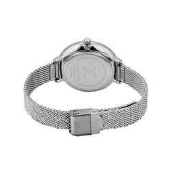 Mesh Band Womens''s Silver Watch - DK.1.12256-1 preview
