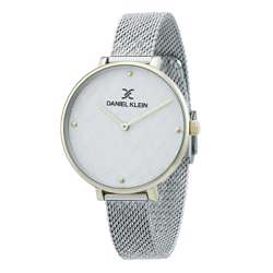 Mesh Band Womens''s Silver Watch - DK.1.12256-2 preview