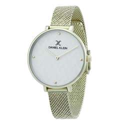 Mesh Band Womens''s Gold Watch - DK.1.12256-3 preview