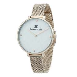 Mesh Band Womens''s Rose Gold Watch - DK.1.12256-4 preview