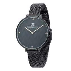 Mesh Band Womens''s Black Watch - DK.1.12256-6
