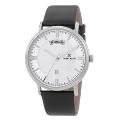 Leather Mens''s Black Watch - DK.1.12258-1 preview