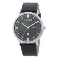 Leather Mens''s Black Watch - DK.1.12258-2 preview
