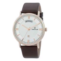 Leather Mens''s Brown Watch - DK.1.12258-5 preview