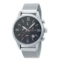 Mesh Band Mens''s Silver Watch - DK.1.12259-2 preview