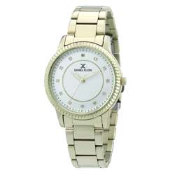 Stainless Steel Womens''s Gold Watch - DK.1.12262-1 preview