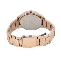 Stainless Steel Womens''s Rose Gold Watch - DK.1.12262-2 preview