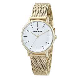 Mesh Band Womens''s Gold Watch - DK.1.12263-2 preview
