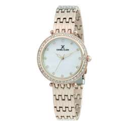 Stainless Steel Womens''s Rose Gold Watch - DK.1.12264-2 preview