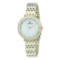Stainless Steel Womens''s Gold Watch - DK.1.12264-3 preview