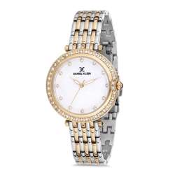 Stainless Steel Womens''s Two Tone Gold Watch - DK.1.12264-4 preview
