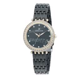 Stainless Steel Womens''s Black Watch - DK.1.12264-6 preview