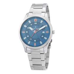 Stainless Steel Mens''s Silver Watch - DK.1.12265-3 preview